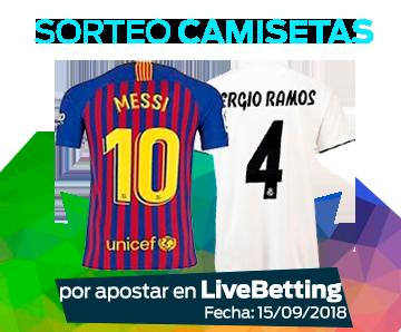 Gana la camiseta de Messi o Sergio Ramos