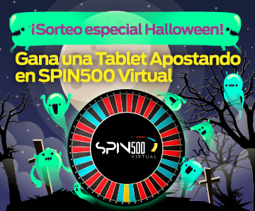 ¡Spin500 Virtual te Premia!