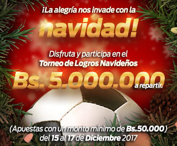Torneo de logros Bs. 5.000.000 a repartir