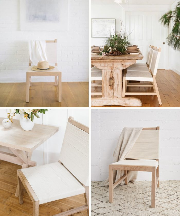 The Oak Rope Chair