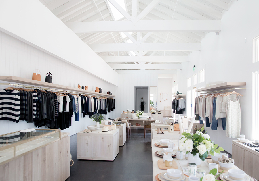 Newport Beach store interior