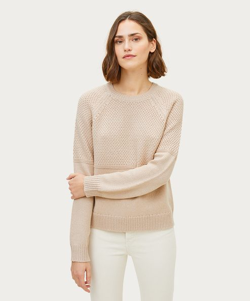 Merino Mix Stitch Sweater