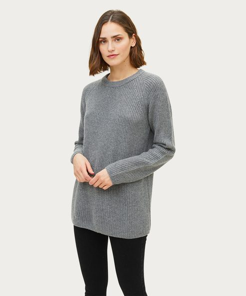 Cashmere Open Sweater