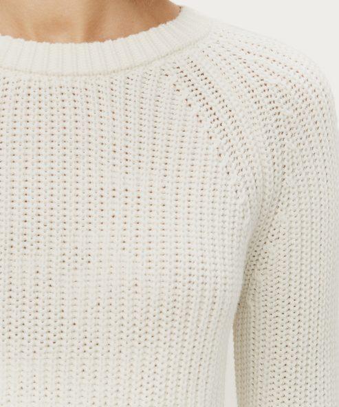 Cotton Fisherman Sweater