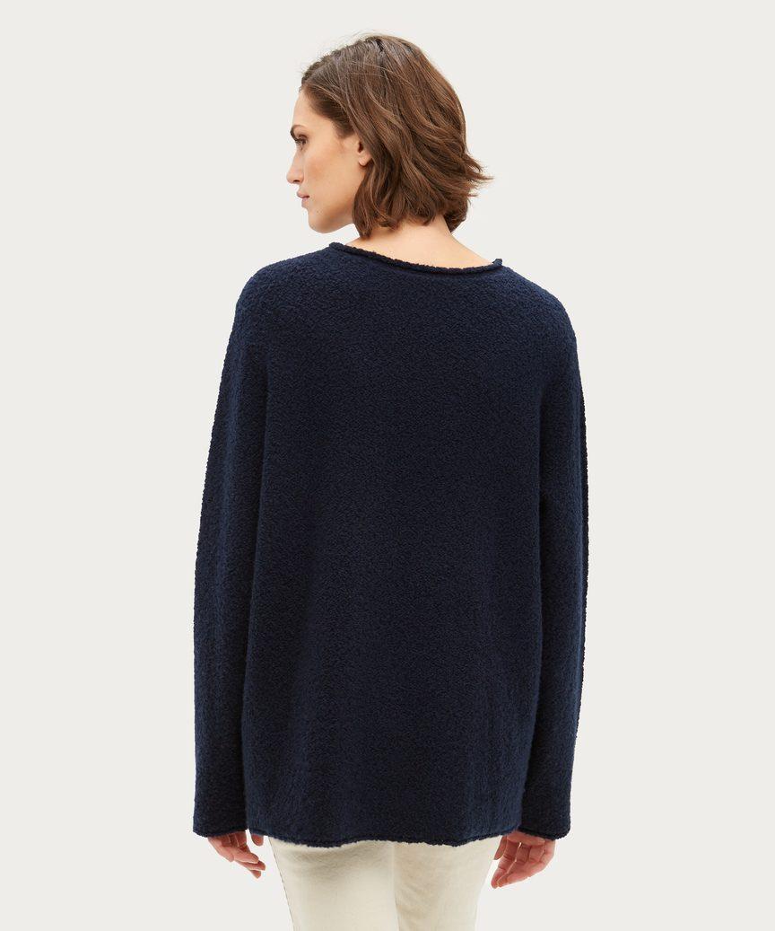 Boucle Crewneck Sweater