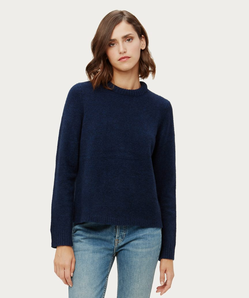 Puffy Crewneck Sweater