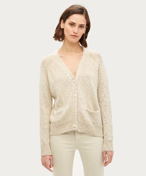 Cotton Linen Stanford Cardigan