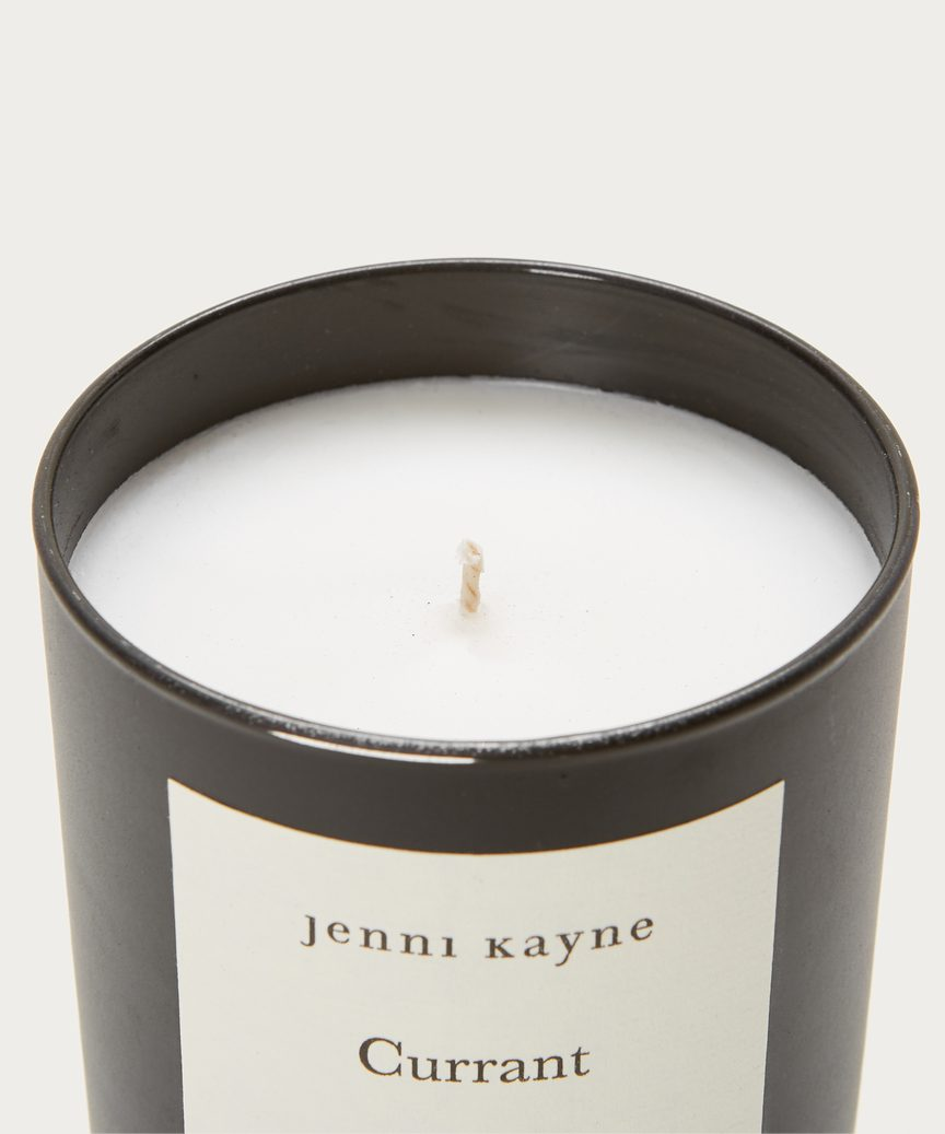 Currant Matte Glass Candle