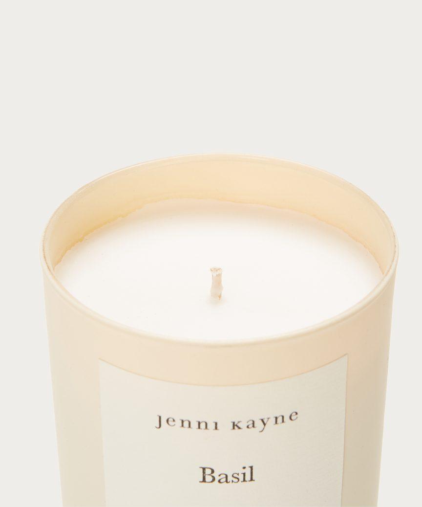 Basil Matte Glass Candle