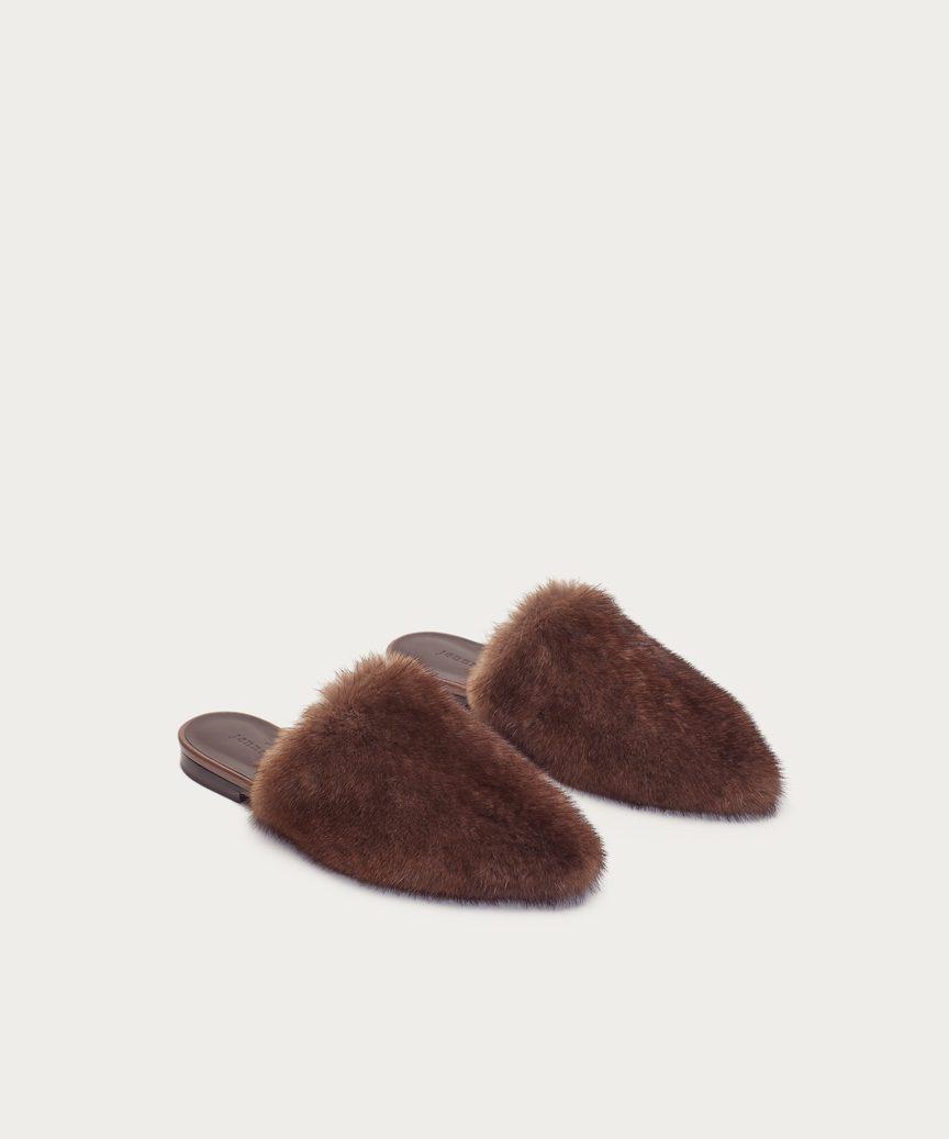 Jenni Kayne 2018 Mink Mules discount lowest price professional shop cheap price XXvhaINcn