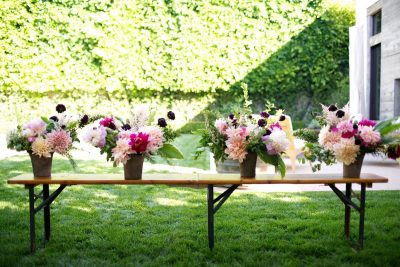 Floral Arrangements with Moon Canyon Design