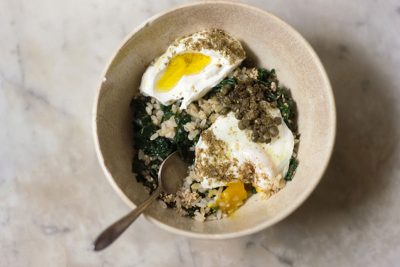 Kale Rice Bowl Recipe