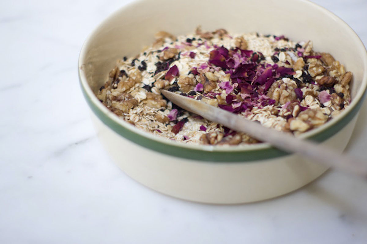 Rose Petal Granola Recipe - Rip & Tan