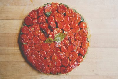 Cherry Tomato Upside Down Tart Recipe