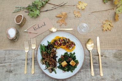 In the Veggie Kitchen: Thanksgiving – The Menu