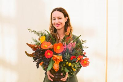 Floral Arrangements with Hollyflora: Citrus Edition