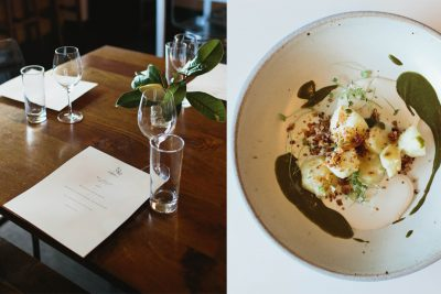 Spring Entertaining: A Vegetarian Tasting Menu at Alma