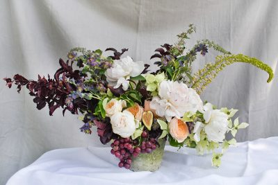 Floral Arrangements with Finch Floral: A Summer Fruit-Infused Display