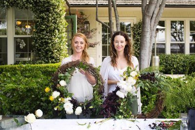 Floral Arrangements with Finch Floral: A Lush, Organic Wreath