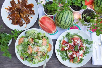 Summer Entertaining: A Watermelon Party with Annie Campbell – The Menu