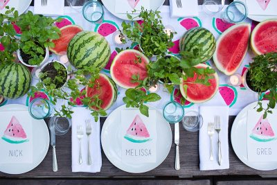 Summer Entertaining: A Watermelon Party with Annie Campbell – The Decor