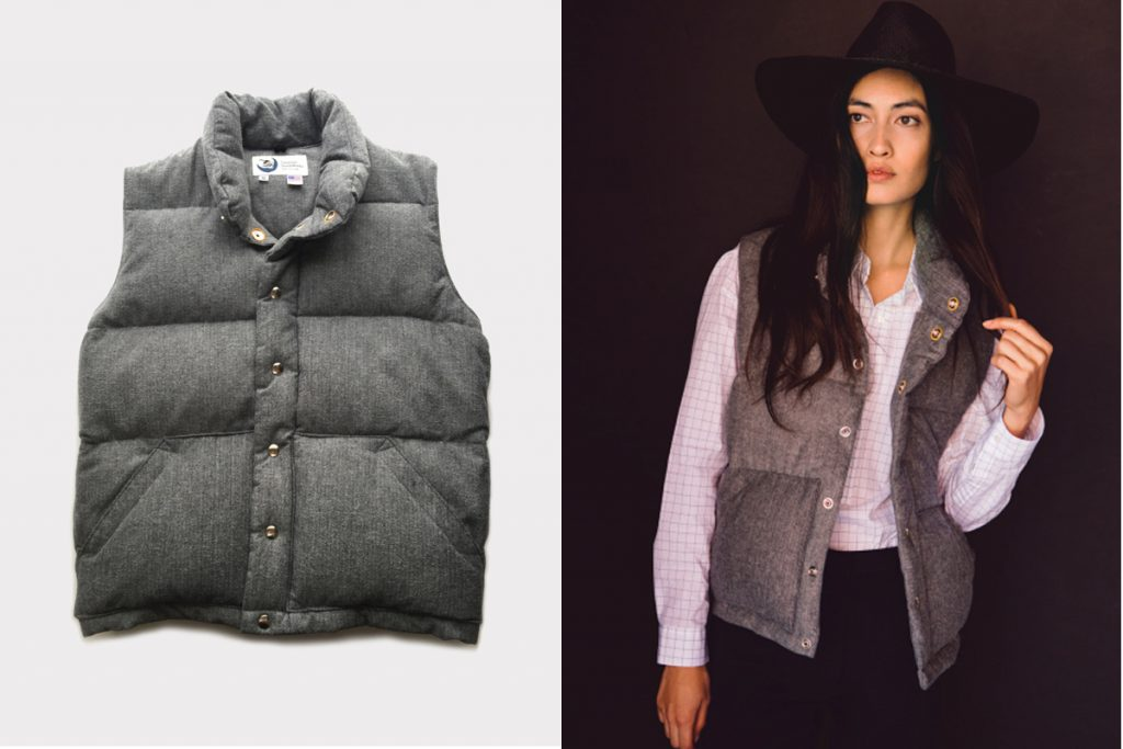 Product of the Day: Jenni Kayne x Crescent Down Works Italian Vest