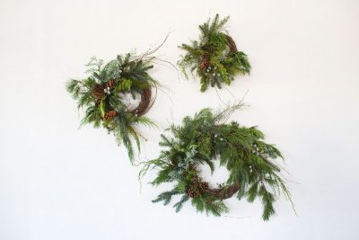 Floral Arrangements with Moon Canyon – Holiday Wreaths
