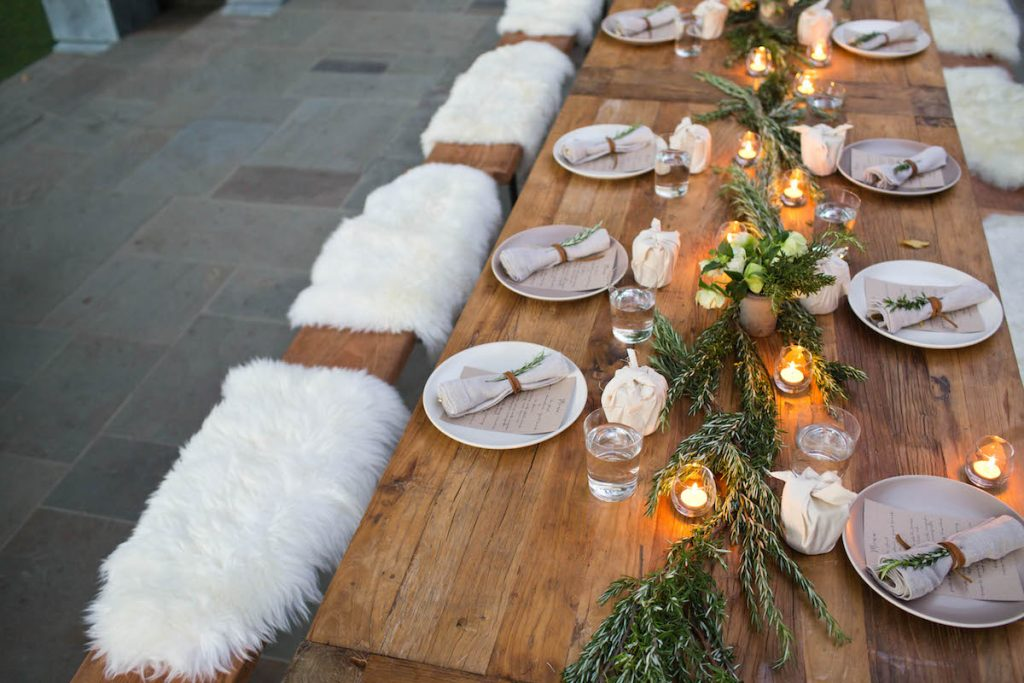 Rosemary Tablescape