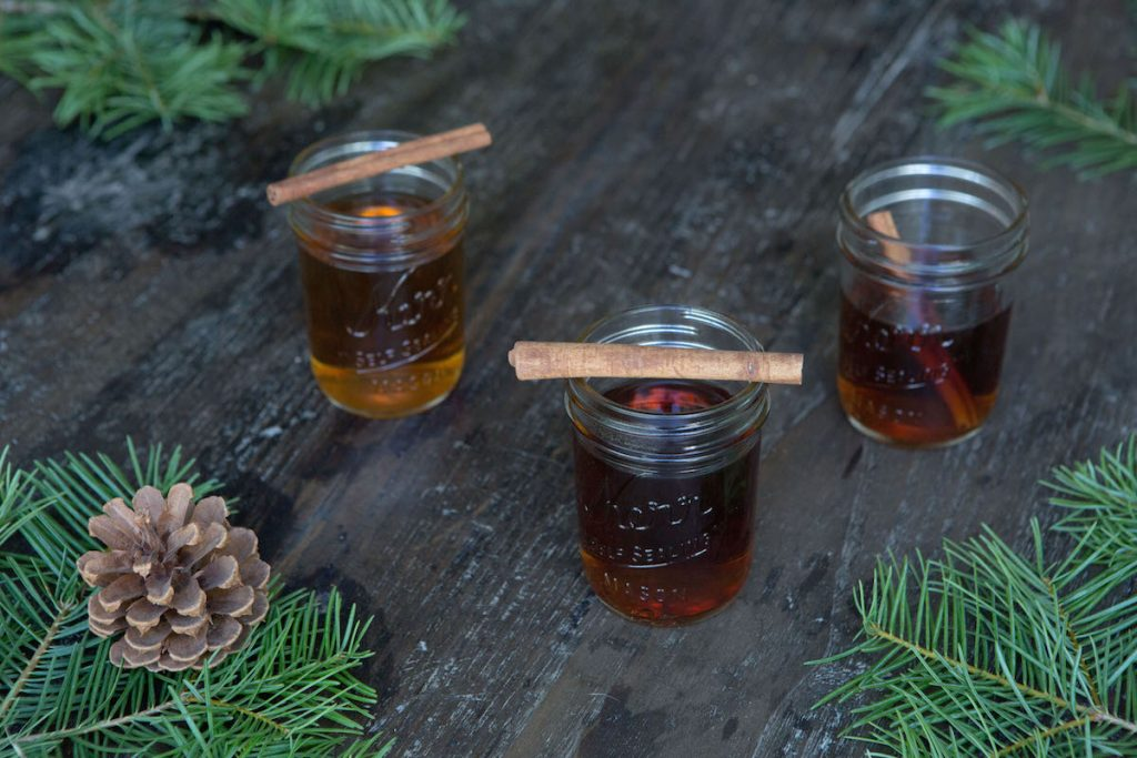 Apple Brandy Hot Toddy Cider