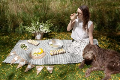 A Fresh and Vibrant Easter Afternoon Picnic
