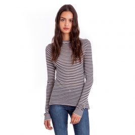 Jenni-Kayne-Cremino-Jersey-Striped-Long-Sleeve-Top-Navy-White-Front