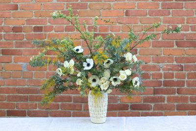 Spring Spirea: A Floral Arrangement by James' Daughter