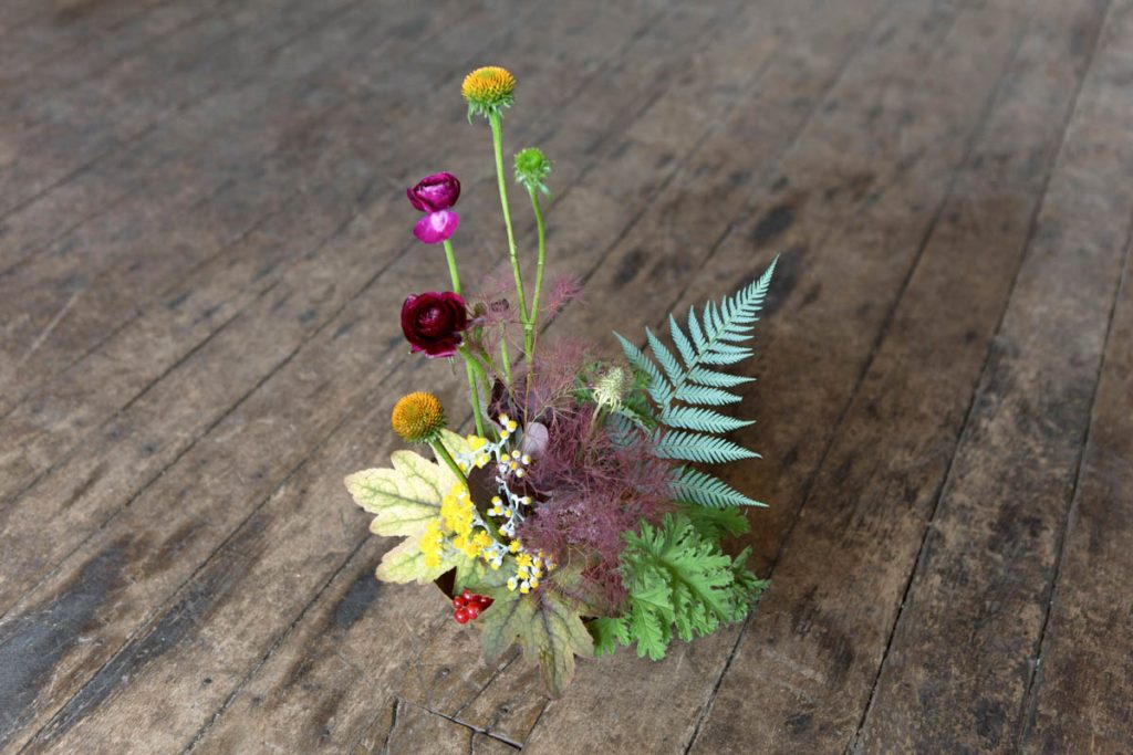 An Ikebana-Inspired Arrangement by Peartree Flowers
