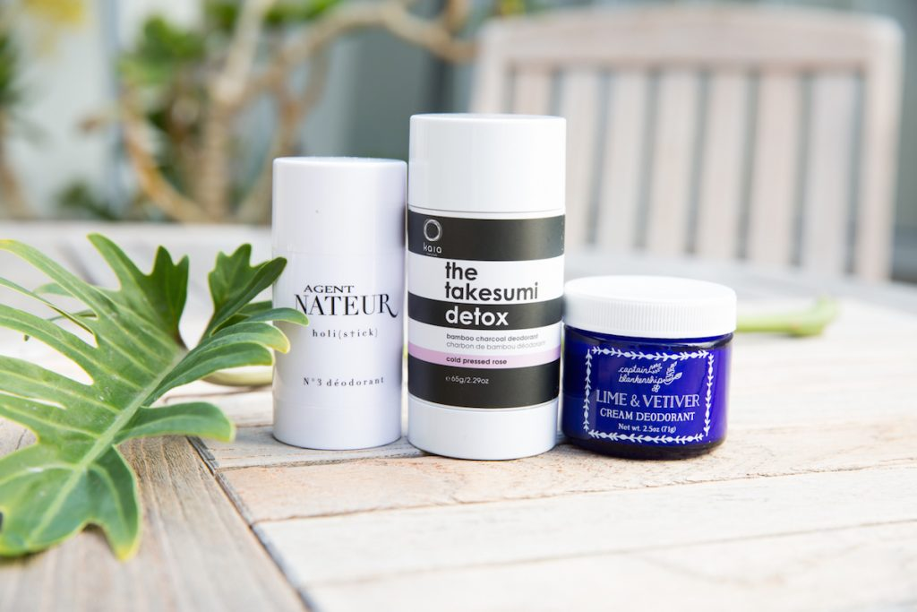 3 Non-Toxic Deodorants That Work