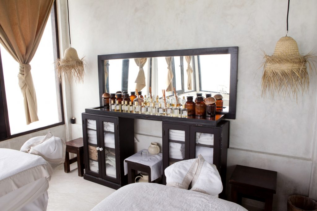 Inside the Coqui Coqui Hotel, Spa, and Perfumery