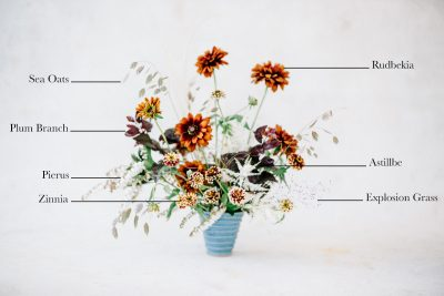 Floral Encyclopedia with Moon Canyon: A Wild Fall Bouquet
