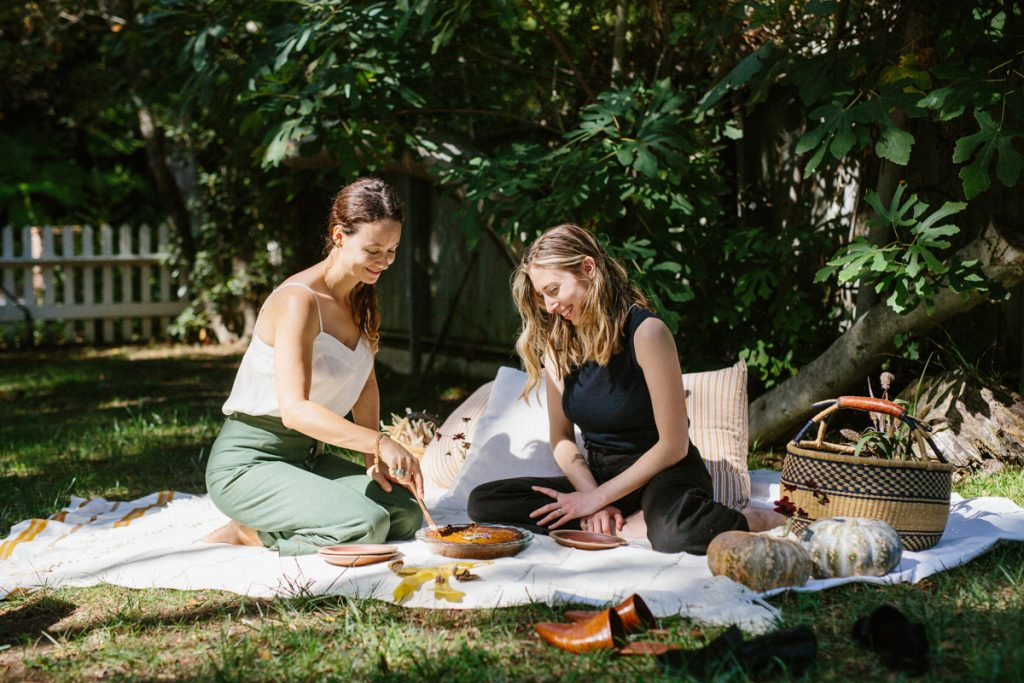 A Fall Picnic Gathering with Friends