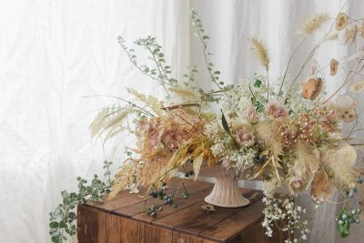 A Muted Fall Arrangement by Sarah Winward