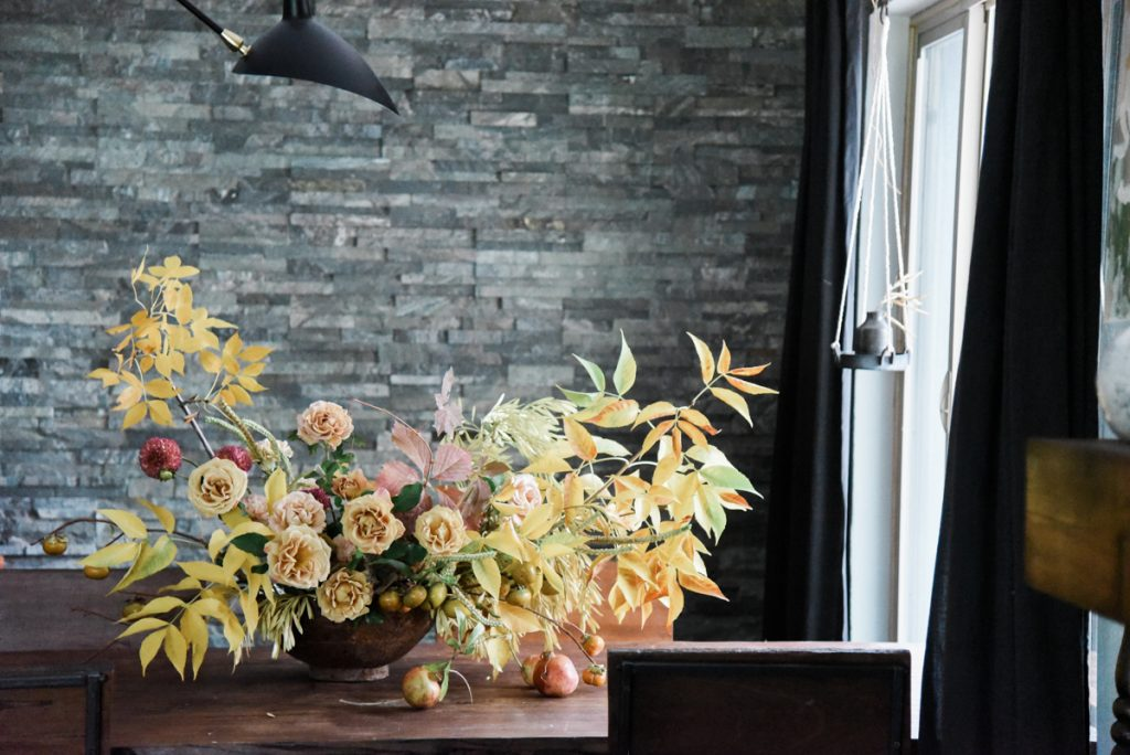 A Bountiful Fall Floral Arrangement by Sarah Winward