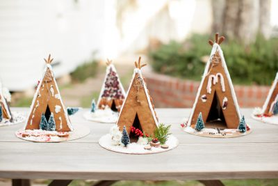 A Gingerbread House Decorating Party with Amy Blessing