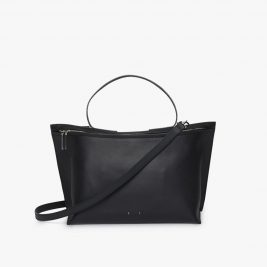 pb-0110-ab-40-med-zip-shoulder-bag-black-front_1024x1024