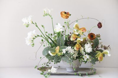 Sarah Winward's Simple Winter Floral Arrangement