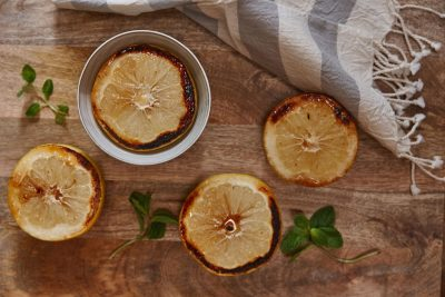 Annie Campbell's Brûléed Grapefruit with Ginger