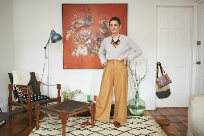 Inside Lizzie Fortunato's Art-Filled Brooklyn Brownstone