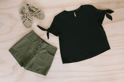 The Delicate Black Top, Two Ways