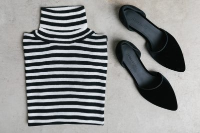 Fall Statement Pieces in Striking Black and White