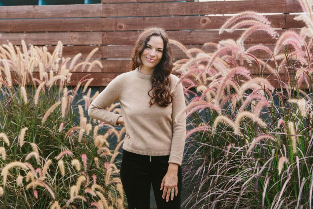 Elizabeth Antonia's Effortless Spin on Fall's Finest Fabrics