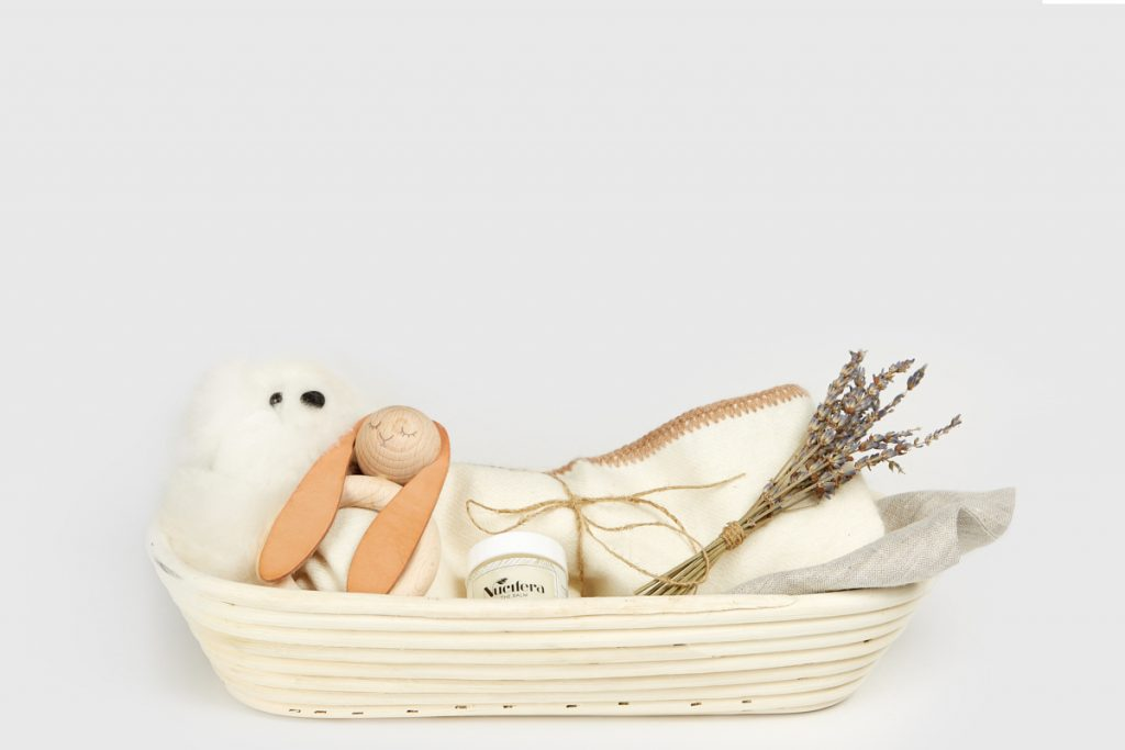 Introducing the Jenni Kayne x Maisonette Baby Gift Basket