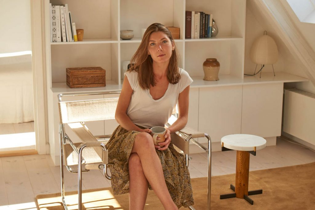 Inside Caroline Feiffer's Light-Filled Copenhagen Apartment