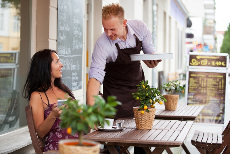 Restaurants can improve their customer services by implementing more efficient inventory management systems.